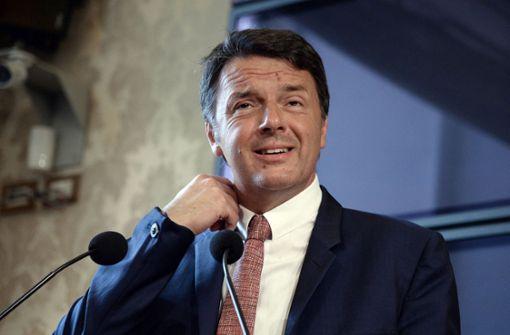 Renzi, der ewige Querulant