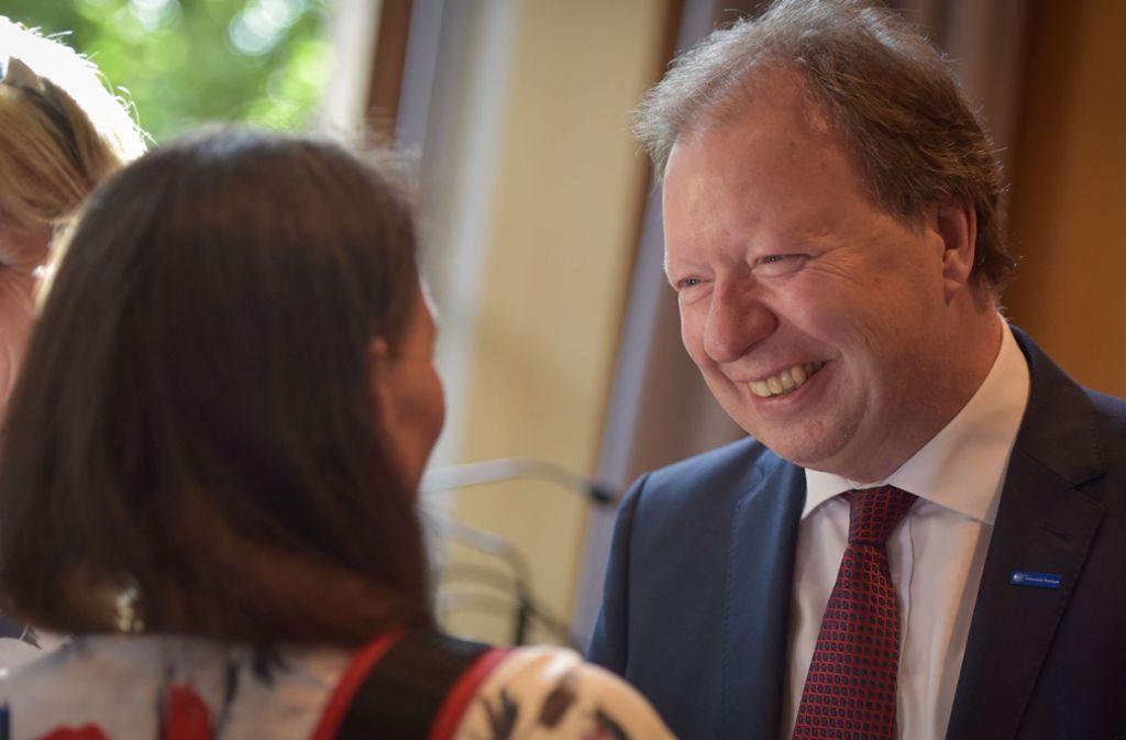 Uni-Stuttgart-Rektor Wolfram Ressel ist für eine dritte Amtszeit wiedergewählt worden. Foto: Lichtgut/Max Kovalenko