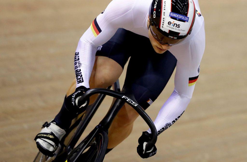 Stefan Bötticher ist Bahnrad-Europameister. Foto: AP