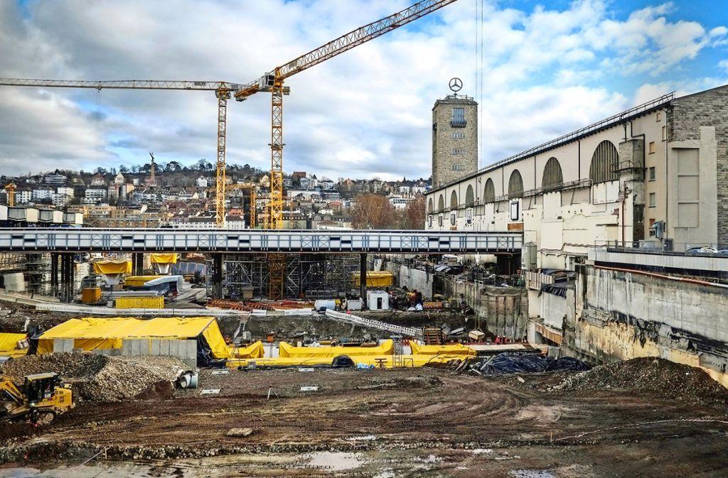 Die Grünen bezweifeln, dass die acht Durchgangsgleise des neuen Tiefbahnhofs für die nächsten Jahrzehnte ausreichen. Foto: Lichtgut/Max Kovalenko