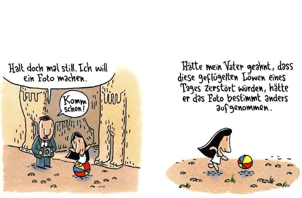 """Der Comic """"Mohnblumen aus dem Irak"""" spielt lange vor der Schreckenszeit des IS. Foto: Reprodukt"""