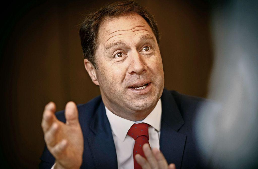Der Winnender OB Hartmut Holzwarth hat keinen Gegenkandidaten. Foto: Stoppel/Archiv