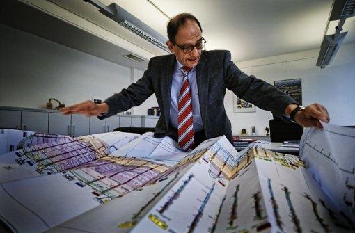 Im März 2011 fasste der damalige S-21-Projektleister Hany Azer Chancen und Risiken im Zusammenhang mit Stuttgart21 zusammen. Foto: Archiv Heinz Heiss