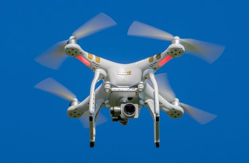 Drohnenflüge sind im Aufwind
