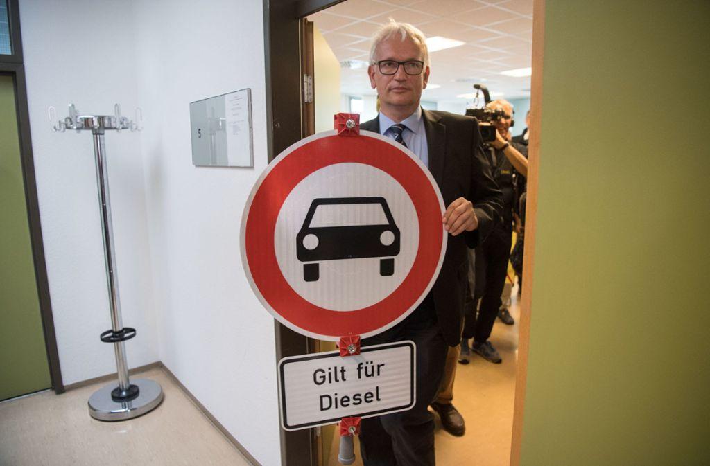 Jürgen Resch, Bundesgeschäftsführer der Deutschen Umwelthilfe. Foto: dpa