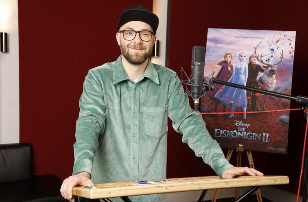 """Mark Forster ist im Disney-Film """"Die Eiskönigin 2"""" mit einem Song vertreten. Foto: TWDC/Kurt Krieger"""