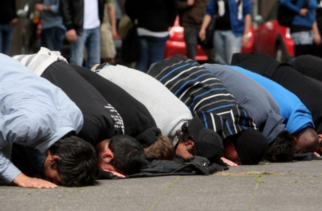 Radikale Muslime im Visier der Sicherheitskräfte Foto: Getty Images Europe