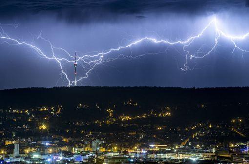 Erneute Warnung vor schweren Gewittern und Starkregen
