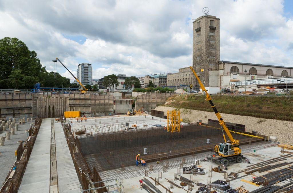 Stuttgart 21 wird gebaut. Doch die Finanzierung bleibt umstritten. Foto: dpa