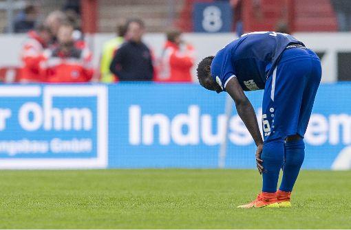 Karlsruher SC erstmals Tabellenletzter