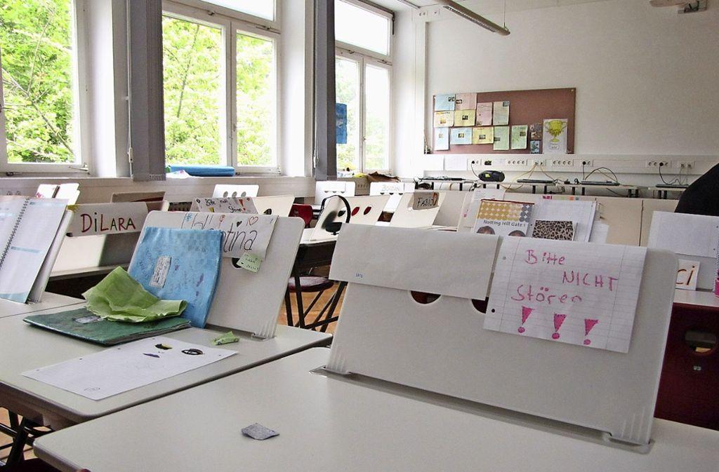 In der Elise-von-König-Gemeinschaftsschule steht der  erste Jahrgang vor dem Realschulabschluss. Foto: Edgar Rehberger