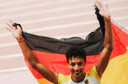 Malaika Mihambo glänzt als Weitsprung-Weltmeisterin