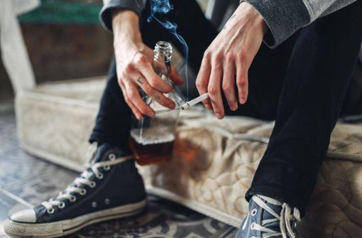Konsum von Tabak und Alkohol deutlich gestiegen
