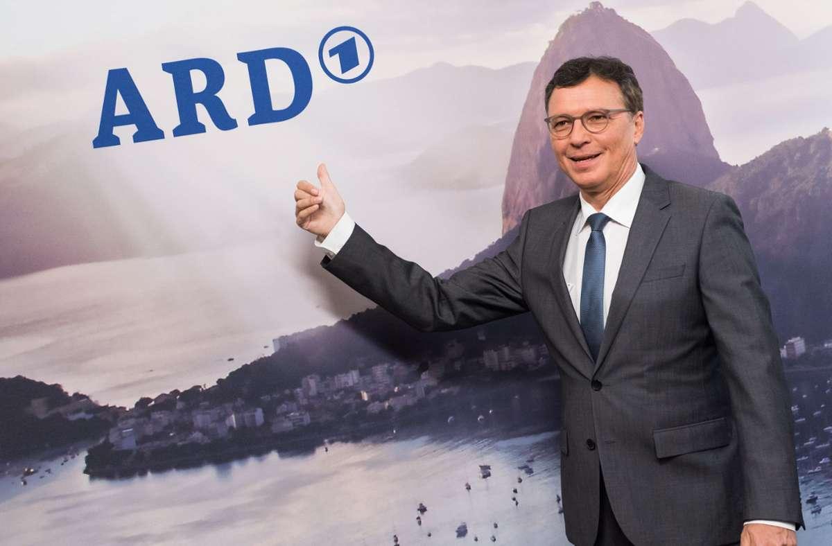 Volker Herres, der aktuelle Programmdirektor des Ersten Deutschen Fernsehens Foto: dpa/Lukas Schulze