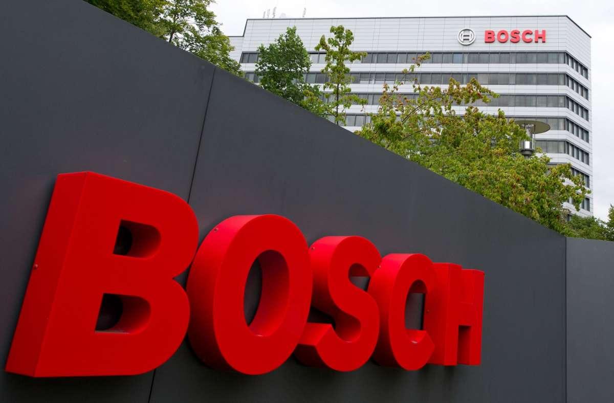 Bosch rechnet trotz Corona mit einem guten Geschäftsjahr. Foto: dpa/Inga Kjer