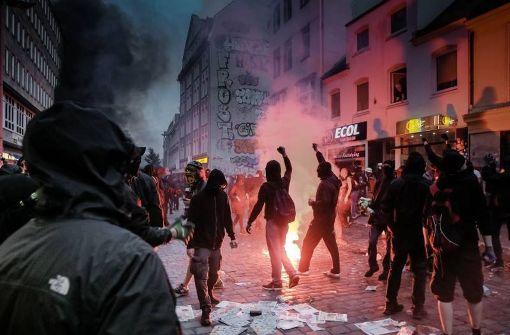 Linksradikale rechtfertigen Gewalt