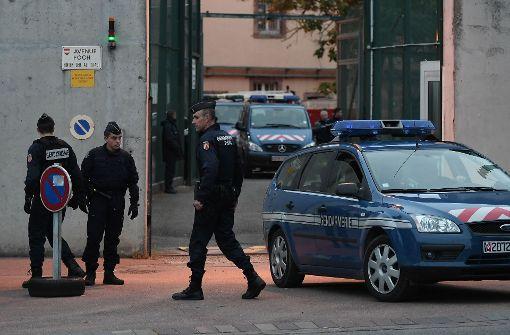Geiselnahme in Gefängnis im Elsass