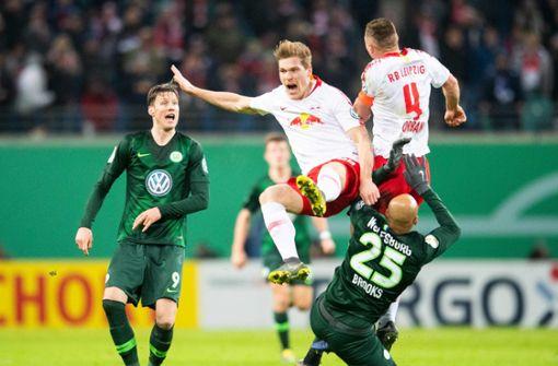 Leipzig und Augsburg gelingt Einzug ins Viertelfinale