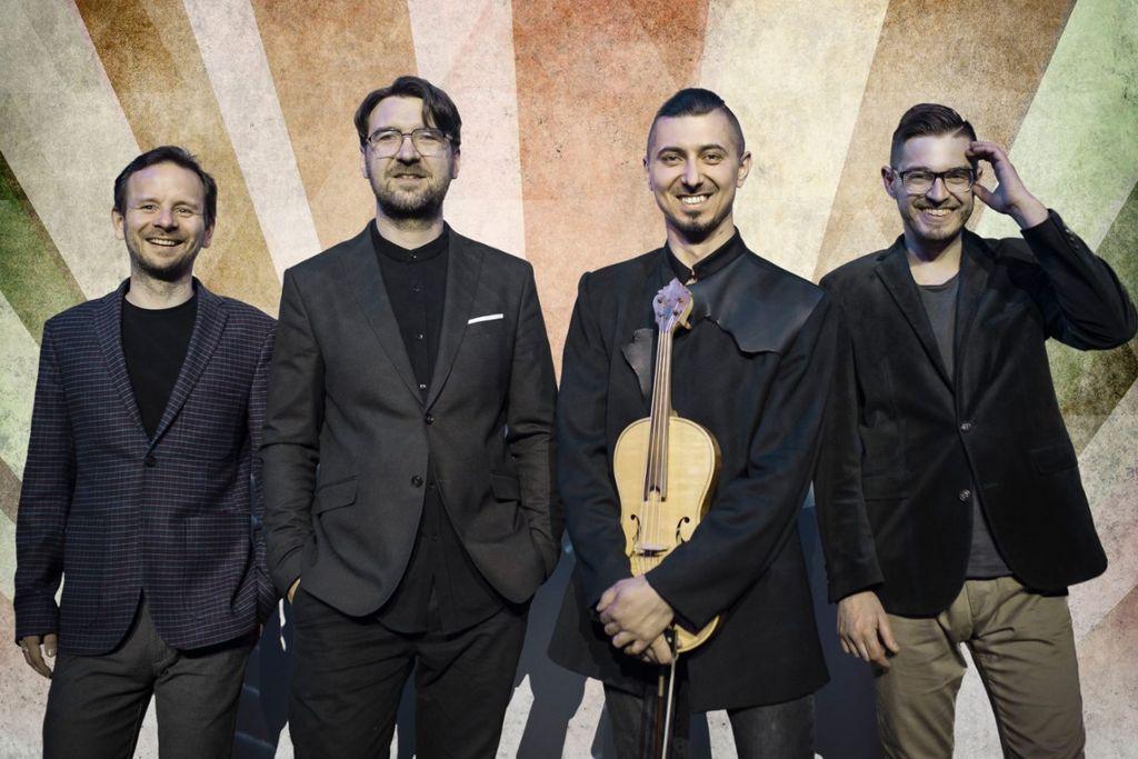 Das Adam Baldych Quartett  Foto: Kasia Stanczyk