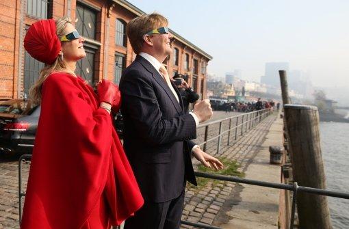 Royaler Besuch genießt Sofi in Hamburg