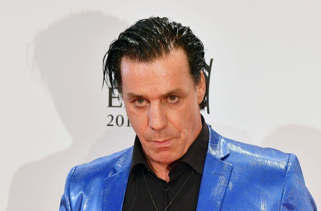 Till Lindemann hat eine ungewöhnliche Angelmethode. Foto: dpa