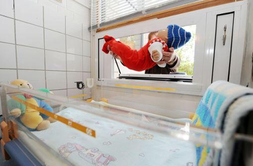 Babyklappen seit 20 Jahren Ausweg für Mütter in größter Not