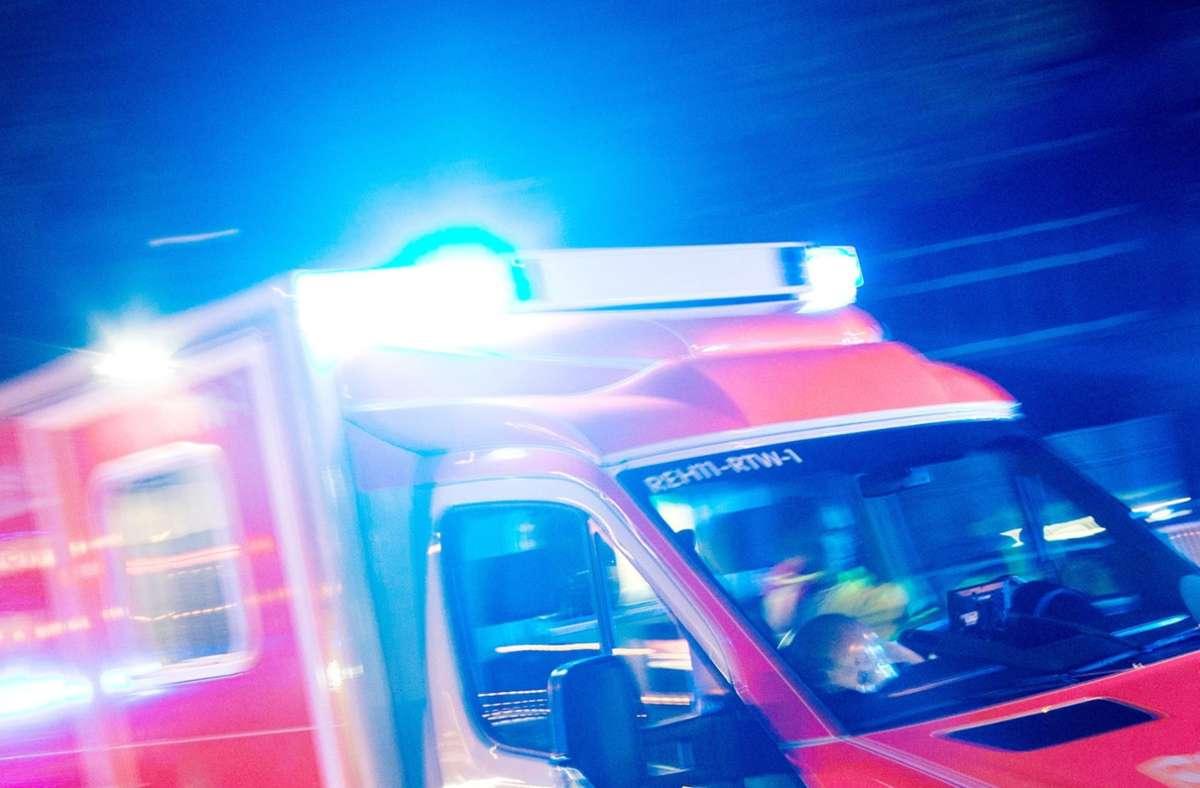 In Reutlingen brach ein Feuer in einem Haus aus. Foto: dpa/Marcel Kusch