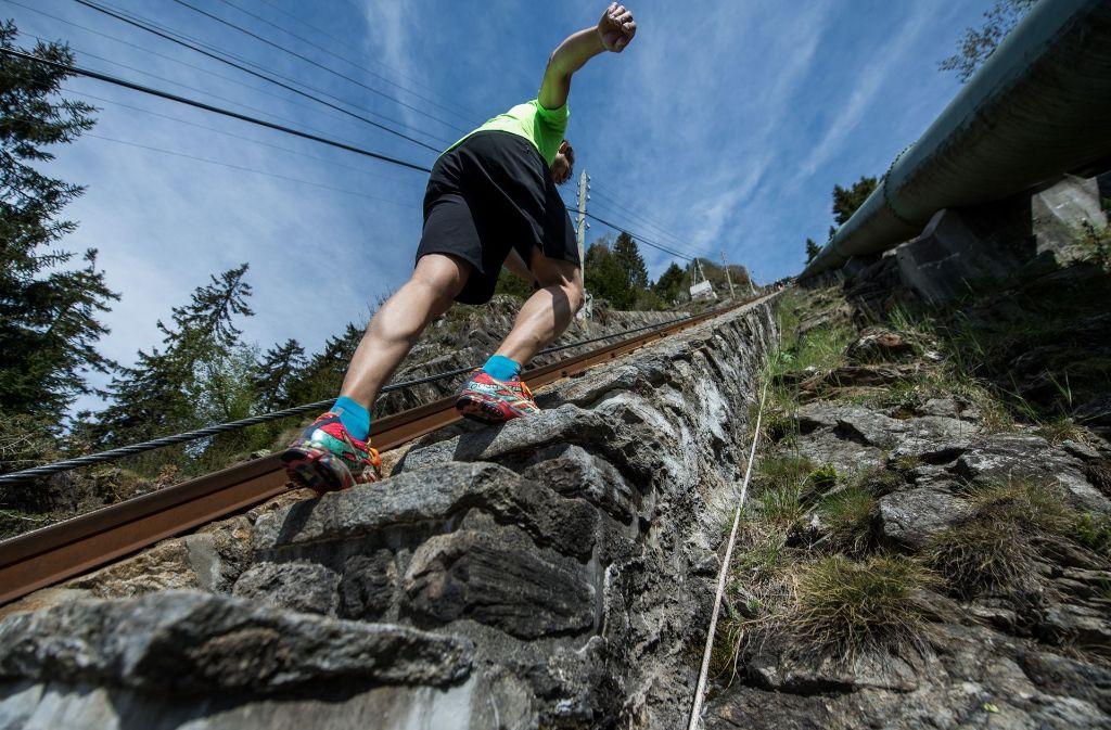Berglaufen in den Alpen kann gefährlich sien. Foto: dpa