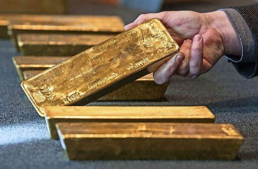 Deutsche Goldreserven wieder in Frankfurt