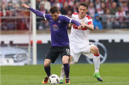 Der VfB zu Gast beim FC Erzgebirge Aue