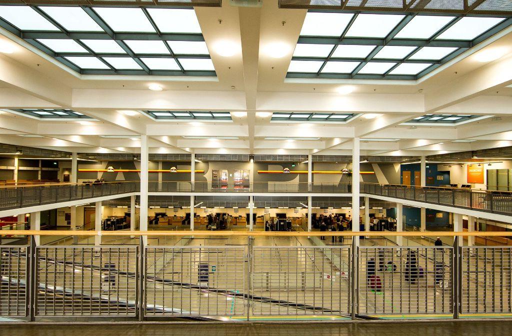Impressionen aus dem Terminal 4 Foto: Lichtgut/Leif Piechowski