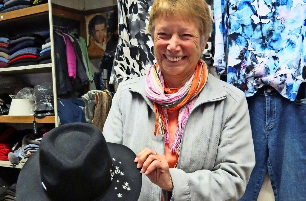 Elke von Hacht führt den Hut Vogel in vierter Generation. Foto: Caroline Friedmann
