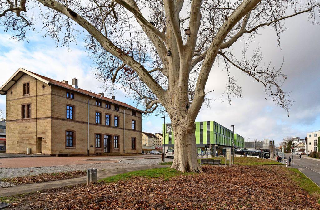 Das Sandsteingebäude ist  im Jahr 1868  gebaut worden. Es steht unter Denkmalschutz. Foto: factum/Jürgen Bach