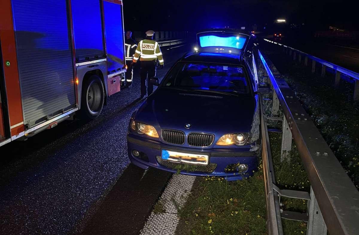 Die Autofahrerin wurde in ein Krankenhaus gebracht. Foto: 7aktuell.de/Alexander Hald/7aktuell.de   Alexander Hald
