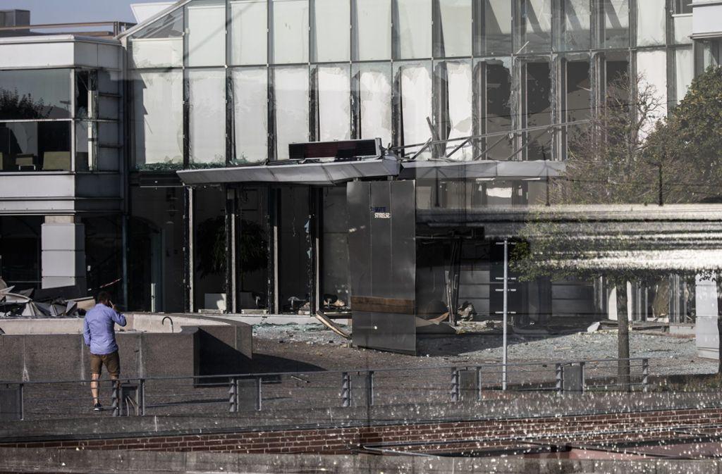 Eine heftige Explosion erschüttert die dänische Stadt Kopenhagen. Foto: dpa