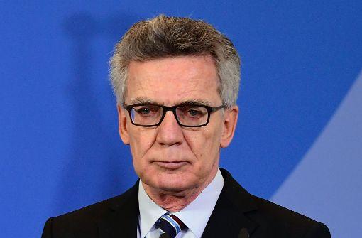 Parteiübergreifend Kritik an de Maizières Vorschlägen