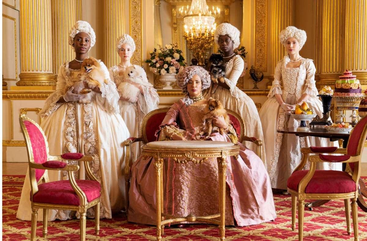 """In """"Bridgerton"""" wird Königin Charlotte von Golda Rosheuvel gespielt.Foto:Netflix Foto:"""
