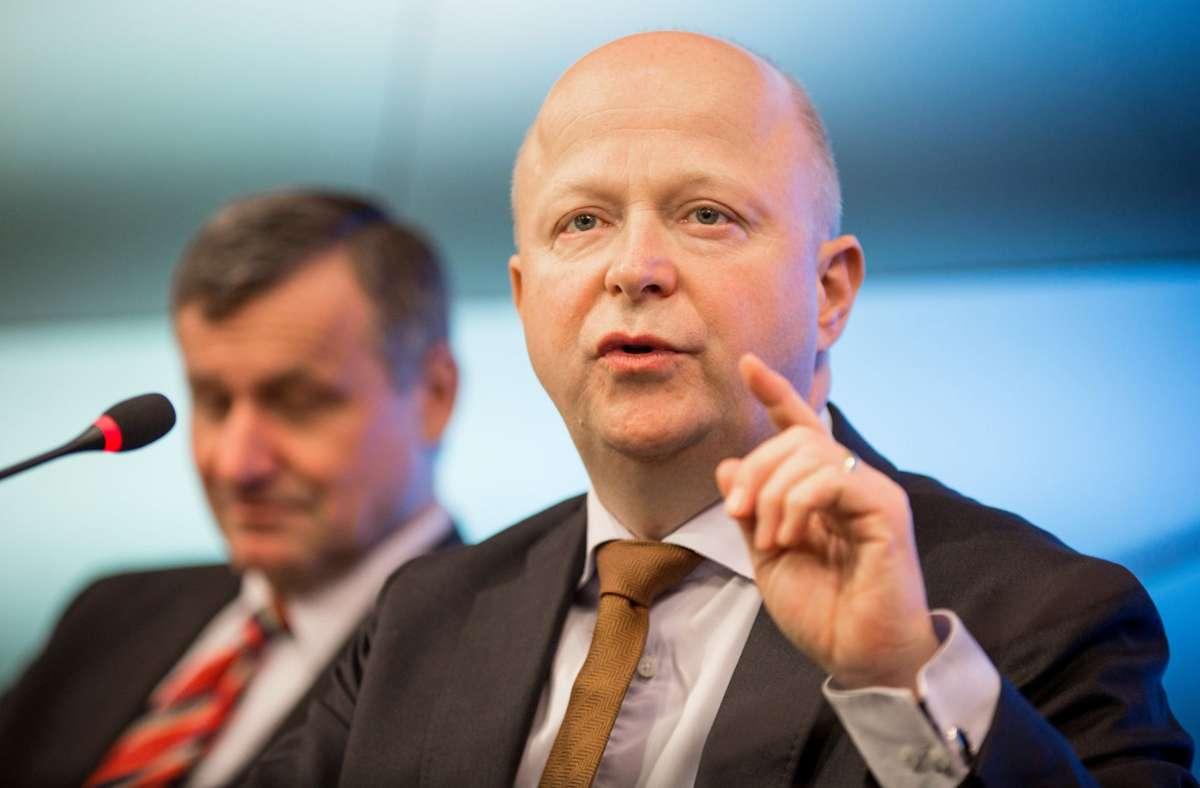 Gemeinsam gegen Populismus-Vorwürfe: Liberale Rülke (links), Theurer Foto: dpa/Christoph Schmidt
