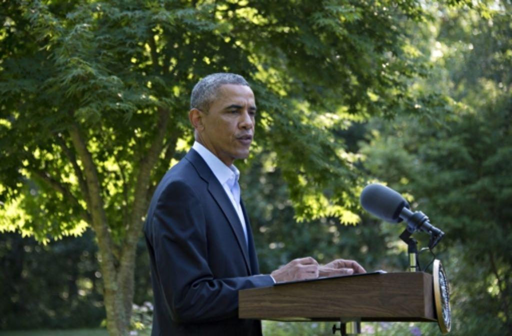 US-Präsident Barack Obama Foto: dpa