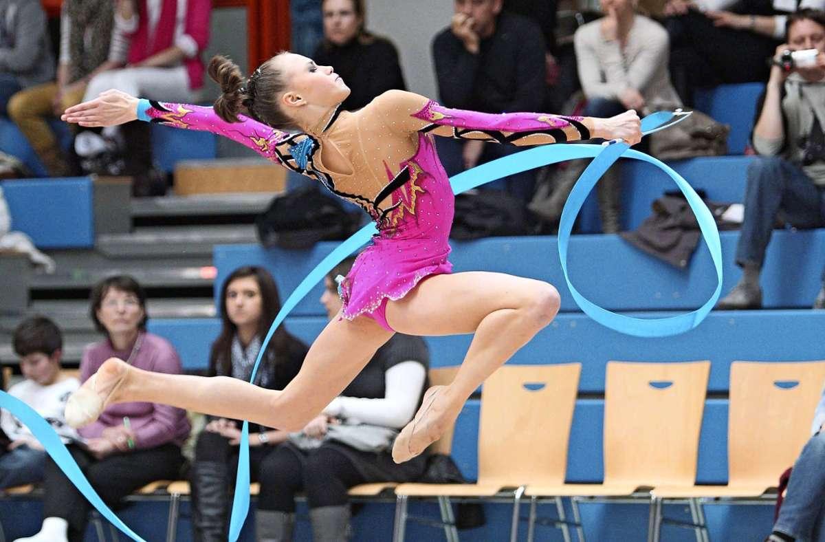 Christina Tschernischew, einst  sportliches Patenkind des regionalen Verbunds Foto: