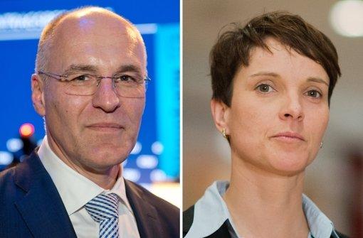 Augsburg erteilt  Petry Hausverbot im Rathaus