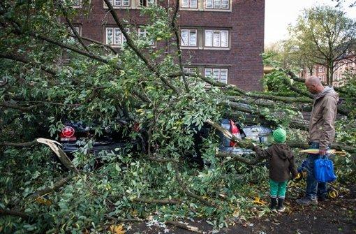 Schon fünf Sturmtote in Deutschland