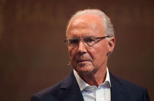 FIFA verfolgt Verfahren gegen Franz Beckenbauer nicht weiter