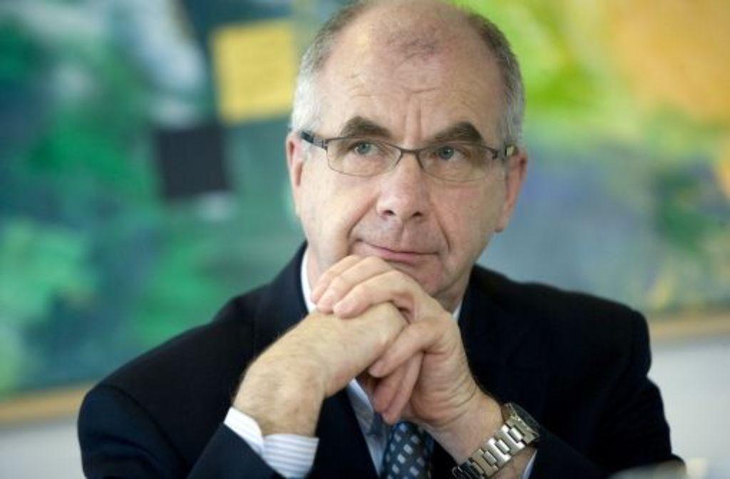 Polizeipräsident Siegfried Stumpf ... Quelle: Unbekannt