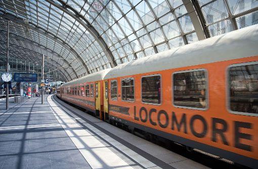 Locomore-Züge fahren bald wieder