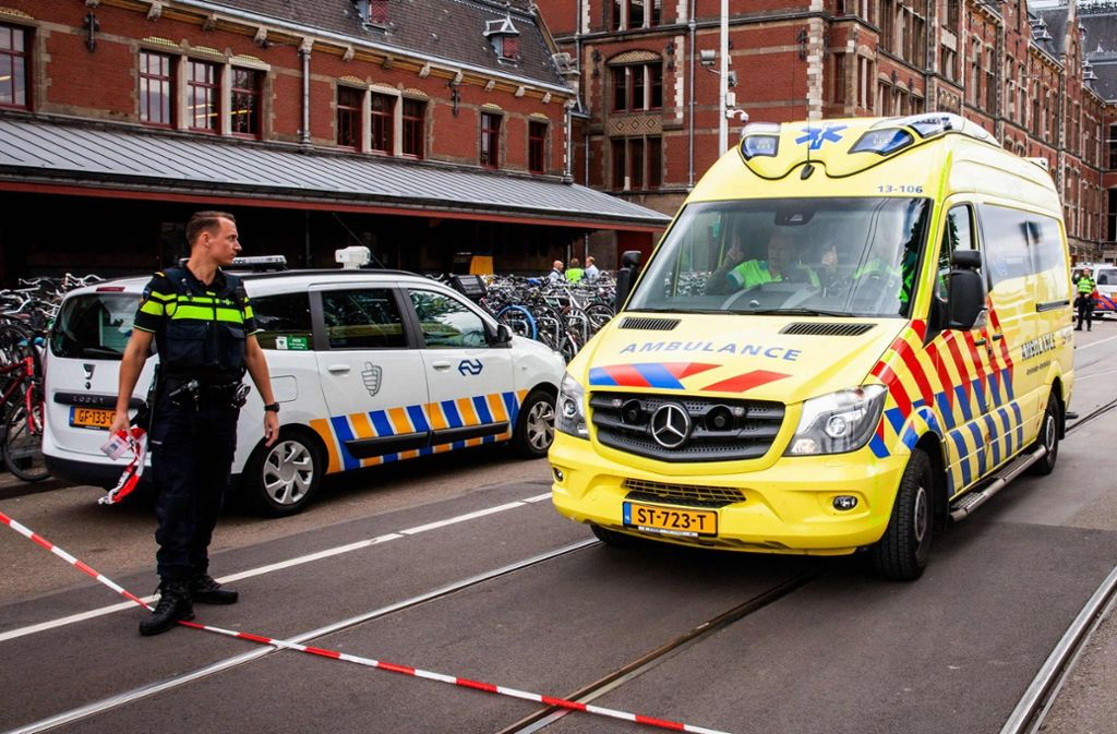 In Amsterdam hat es einen Messerangriff auf zwei Touristen gegeben. Foto: ANP