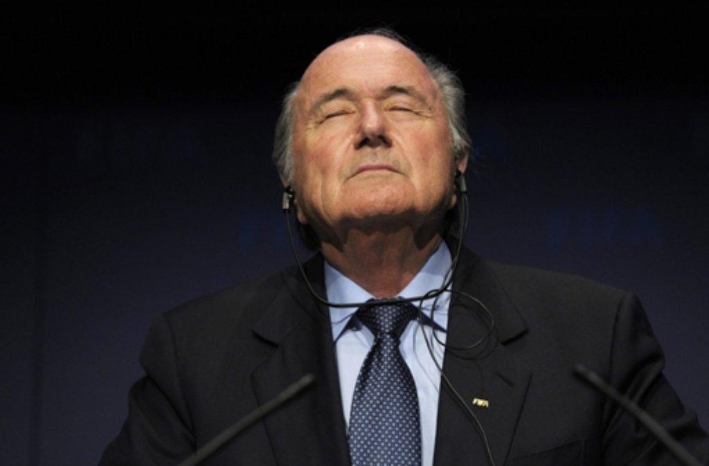Noch-Fifa-Chef Sepp Blatter Foto: dpa