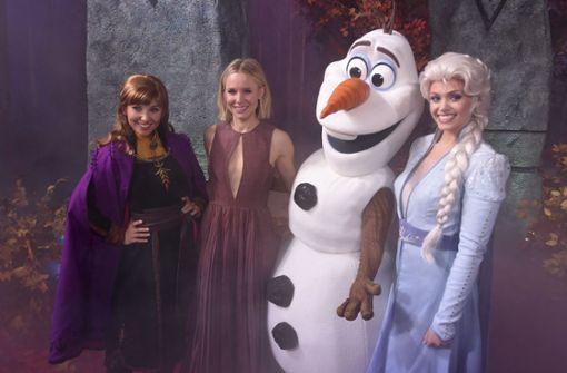 Mädchen für die Rollen von Anna und Elsa gesucht
