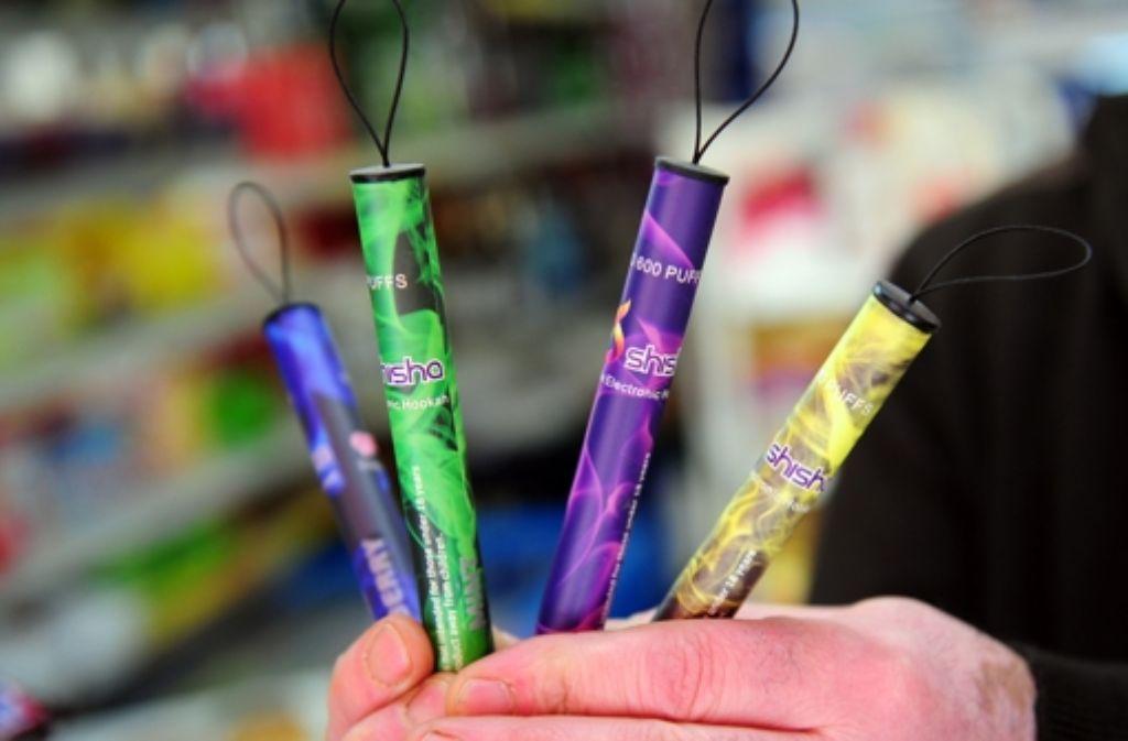 Der Verkauf von E-Shishas an Jugendliche soll verboten werden. Foto: dpa