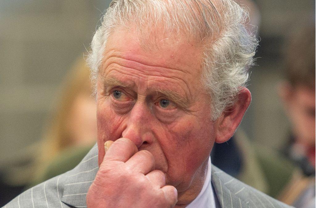 Der Palast hat bekannt gegeben, dass Prinz Charles infiziert ist. Foto: dpa/Joe Giddens